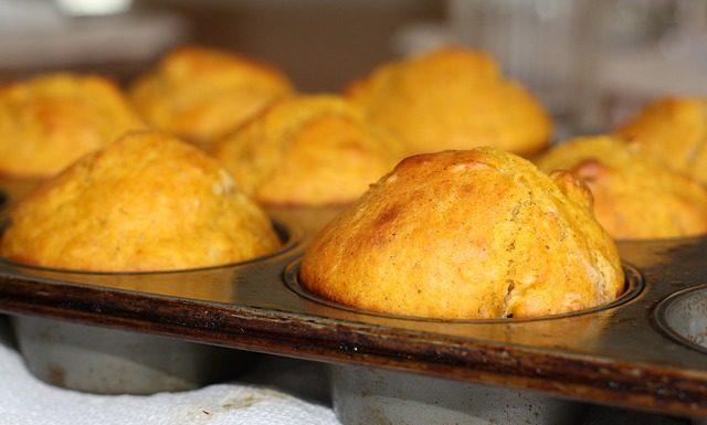 muffins από κολοκύθα και cottage cheese