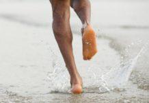 προπόνηση στην παραλία